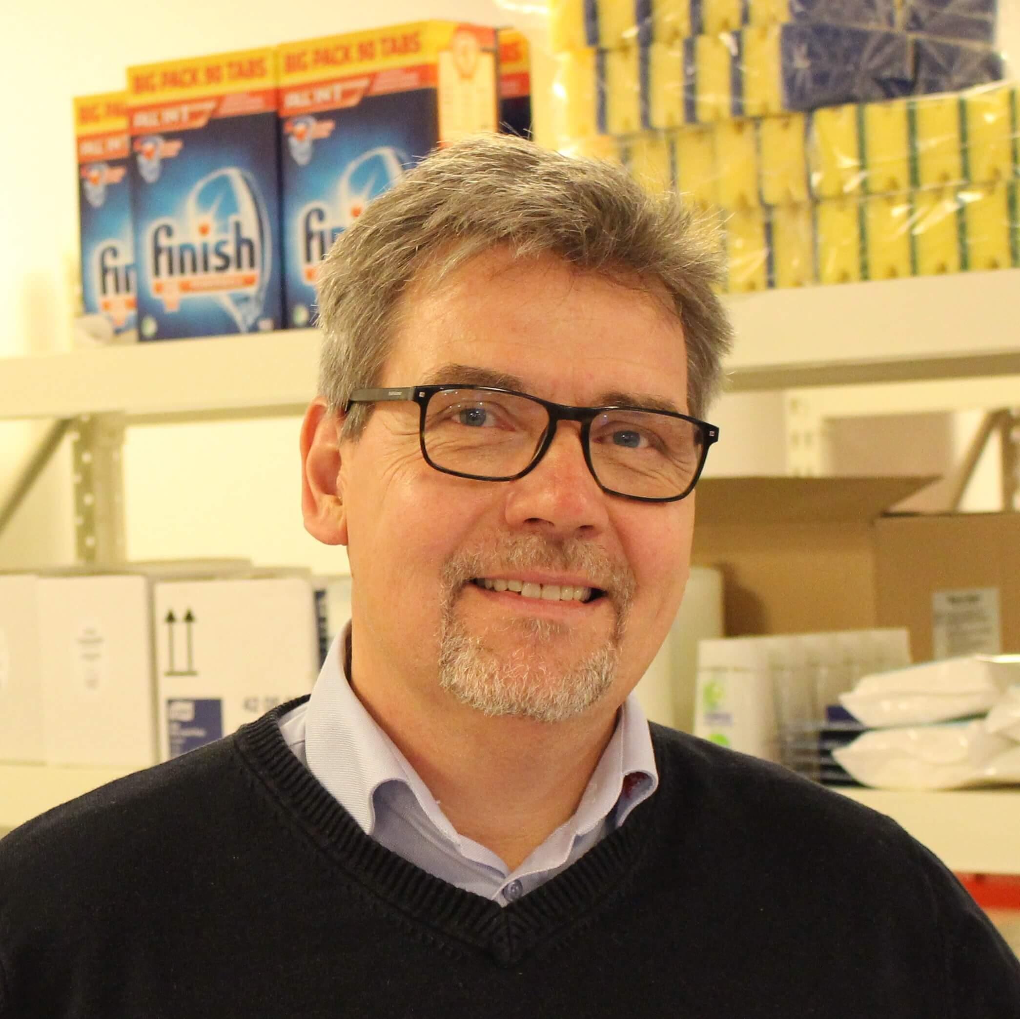 Allan Nielsen, manager at Daseko Rengøring & Service ApS